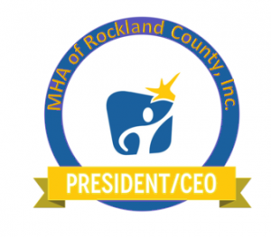 President/CEO Badge